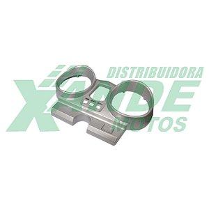CARCACA PAINEL SUP CBX 250 TWISTER PRATA [COR ORIGINAL DA CBX 250] PLASMOTO
