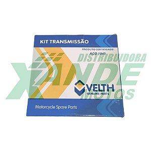 RELACAO KIT XRE 300 (520X104 - 39/13) VELTH