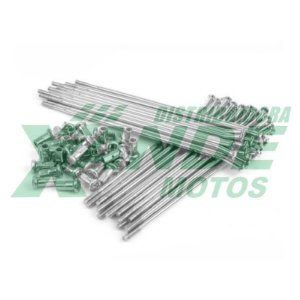 RAIO TRAS BIZ 100 / BIZ 125 / POP 100 CROMADO VELTH