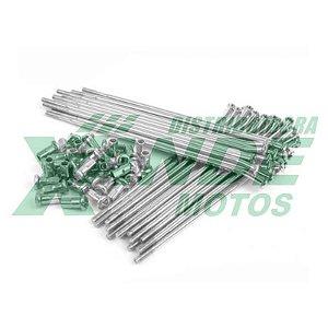 RAIO TRAS TITAN 94-99 / CG 125 78-89 / TODAY 90-94 (17 CM) 4MM CROMADO VELTH