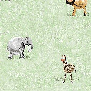Papel de Parede Safari - Hello Kids