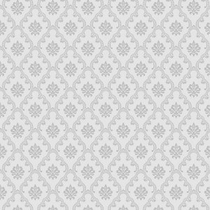 Papel de Parede Adamascado Mini Cinza Element