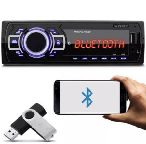 MP3 Player Automotivo Multilaser New One Bluetoot