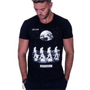 Camiseta Estampada Moonwalk