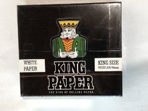 Caixa king paper king size white