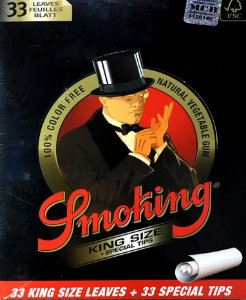 SEDA SMOKING DELUXE KING SIZE C/ PITEIRA