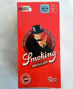 SEDA SMOKING RED  1 1/4 regular