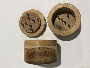 Dechavador artesanal madeira