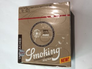 Caixa Smoking Thinnest Brown KS