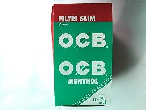 Filtro OCB slim Menthol