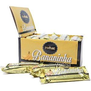 Bananinha Cremosa Prime – Display com 24 unidades de 30 gr