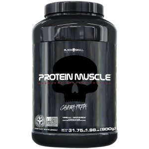 WHEY PROTEIN MUSCLE - PROTEÍNA CONCENTRADA ISOLADA - 900G