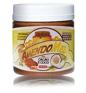 PASTA DE AMENDOIM CACAU E COCO - AMENDOMEL