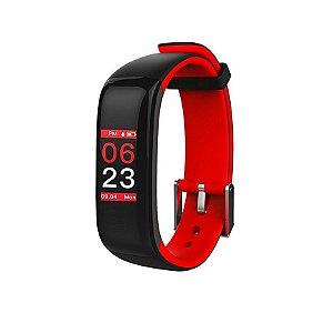 Relógio Inteligente X10 Plus  - Preto e Vermelho