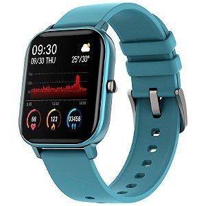 Relógio Inteligente Morefit Pro Azul