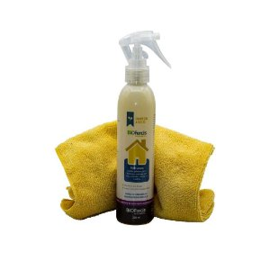 Kit Limpeza Antiviral a Seco - Residencial (1 Casa 200ml e 1 toalha Microfibra 40x40cm)