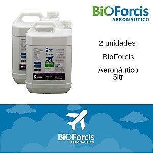 Kit Profissional BioForcis Aeronáutico 5ltr - 2 unidades (caixa)