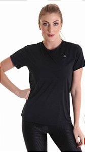 Camiseta Feminina Mangas Curtas Antivirais - Amni Virus Bac Off Rhodia