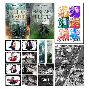 Kit - As Crônicas do Apocalipse - Livros + Marca-Páginas + Cards + Posters