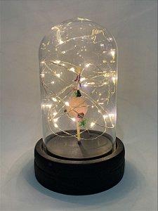 Luminária Pequeno Principie de vidro.