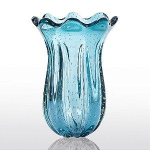 Vaso de Decoração em Murano - Aquamarine - Apolo