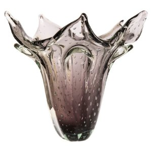 Vaso de Decoração em Murano - Ametista - Kajam - Tam P