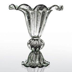 Vaso de Decoração em Murano - Grafite - Divine - Tam Único