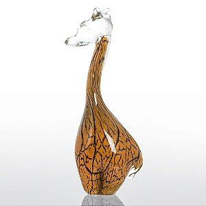 Girafa de Decoração em Murano - Tam M