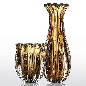 Kit Murano Vaso Jelly e Vaso Powerfull - Ambar