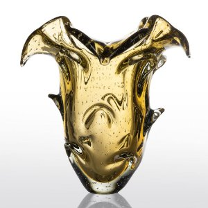 Vaso de Decoração em Murano - Ambar - Tam G - Shadow