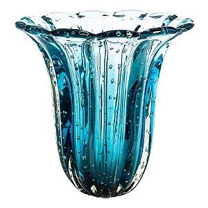 Vaso de Decoração em Murano - Aquamarine - Elegance
