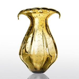 Vaso de Decoração em Murano - Âmbar - Ly - Tam G