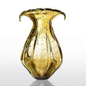 Vaso de Decoração em Murano - Âmbar - Ly - Tam GG