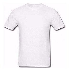 Camiseta Poliéster (10 anos) - Branca