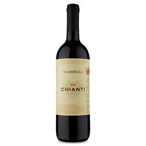 Vinho Italiano Tinto Seco Sardelli D.O.C.G. Chianti 750ml