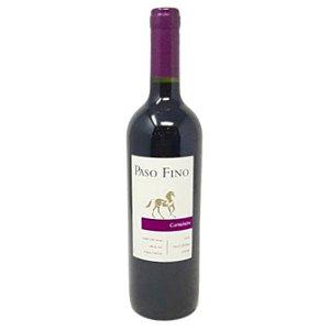 Vinho Chileno Fino Tinto Seco Carménère Paso Fino Reservado 750ml
