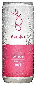 Vinho australiano em lata Barokes Rosé Frisante 250 ml