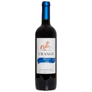 Vinho chileno Uranga Merlot 750ml