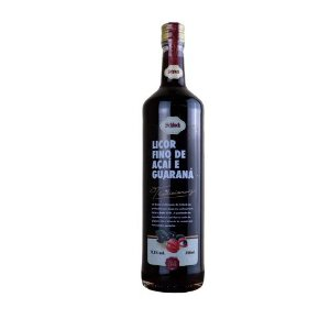 Licor Fino de Açaí e Guaraná 750 ml Schluck