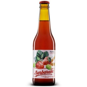 Cerveja Barbarella Fruitbier Morango Long Neck 355ml