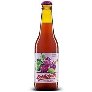 Cerveja Barbarella Fruitbier Framboesa Long Neck 355ml