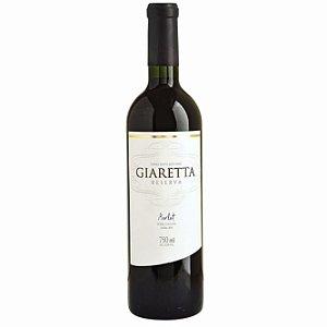Vinho tinto seco Merlot Reserva Giaretta 750ml