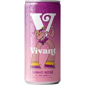 Vinho Rosé em Lata Vivant Wines 269ml