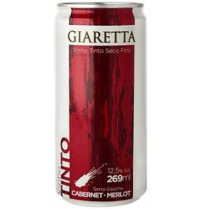 Vinho Tinto Seco em Lata Cabernet / Merlot Giaretta 269ml