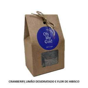 Kit de Especiarias Oh My Gin (Cranberry, Limão Desidratado e Flor de Hibisco)
