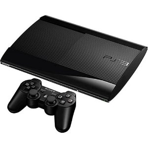 Console PlayStation 3 Slim 500GB + Controle Dual Shock 3 Preto Sem Fio