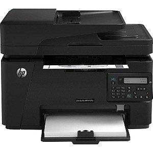 Impressora Hp Multifucional M127FN LASER MONOCROMÁTICA Com Rede E Fax