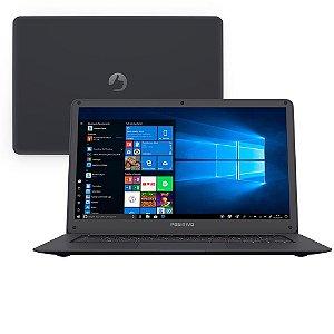 "Notebook Positivo Quad Core 2GB 32GB SSD Tela 14"" Windows 10 Motion Gray Q232A"