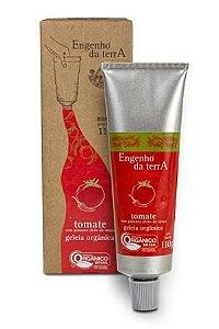 Geleia de tomate com pimenta dedo-de-moça orgânica Engenho da Terra 110g
