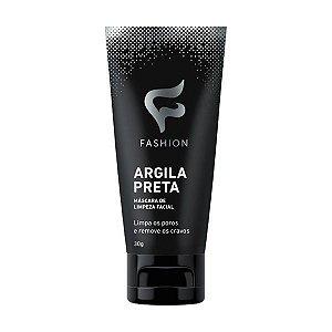 Máscara Argila Preta Removedora de Cravos Fashion 30g - Kit com 06 Unidades
